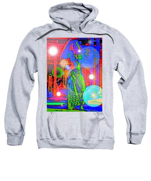 Belly Dance Sweatshirt by Andy Za