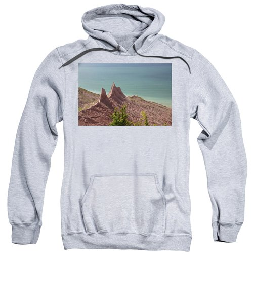 Chimney Bluffs Sweatshirt