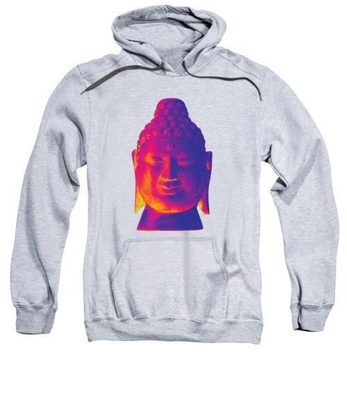 colorful Buddha - Borobudur Sweatshirt