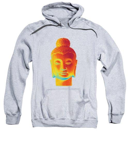 colorful Buddha - Gandhara Sweatshirt by Terrell Kaucher