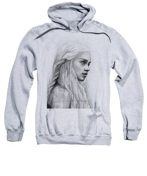 Daenerys Watercolor Portrait Sweatshirt