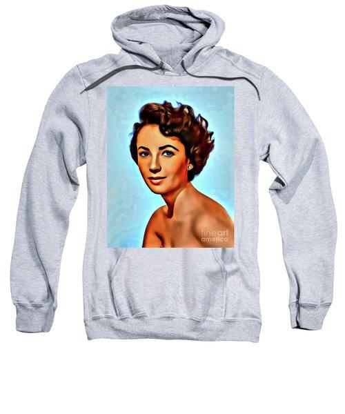 Elizabeth Taylor, Vintage Hollywood Legend Sweatshirt