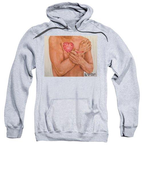Embrace Love Sweatshirt by Kent Chua
