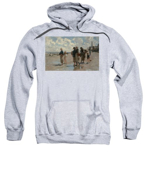 Fishing For Oysters At Cancale Sweatshirt