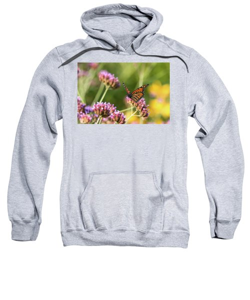 Flight Of The Monarch 1 Sweatshirt