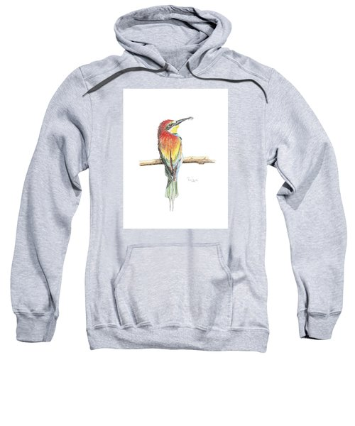 Gruccione - Bee Eater - Merops Apiaster Sweatshirt