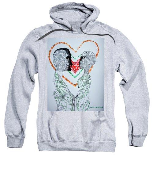 Love Is A Heart Sweatshirt
