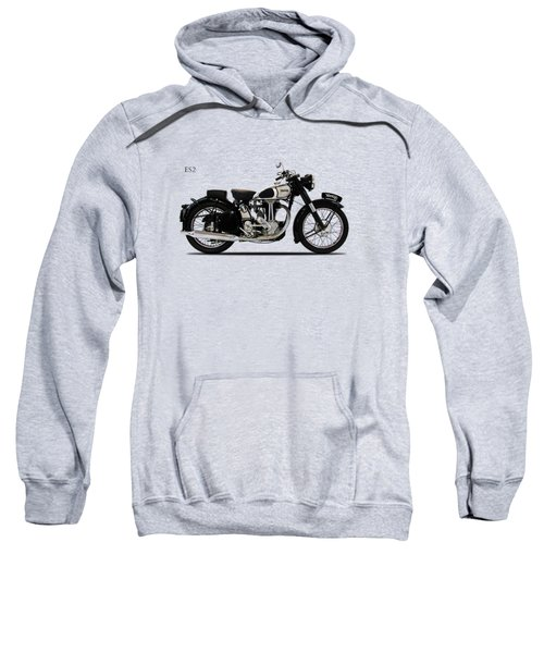 Norton Es2 1947 Sweatshirt by Mark Rogan