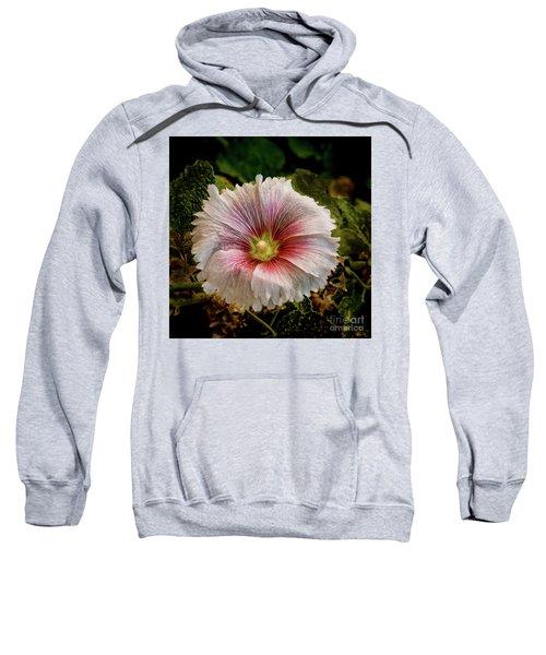 Pink Hollyhock Sweatshirt