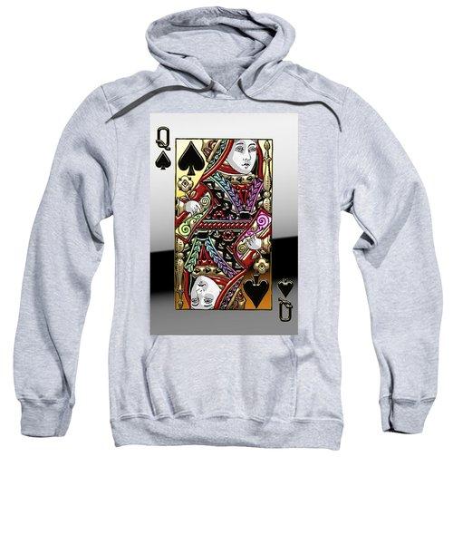 Queen Of Spades  Sweatshirt