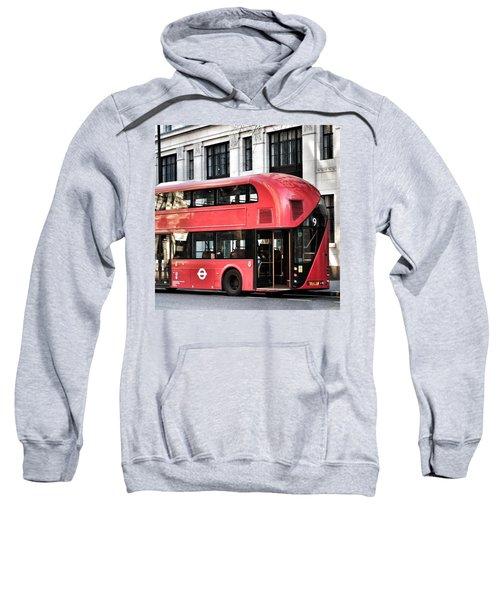 Red Bus In London  Sweatshirt
