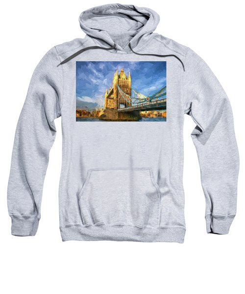 Tower Bridge In London Sweatshirt