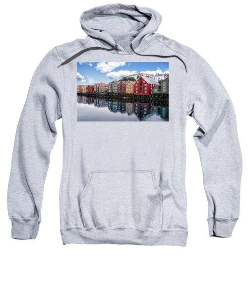 Trondheim Coastal View Sweatshirt