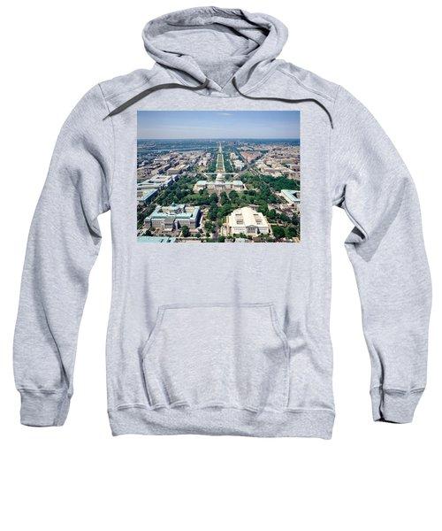 Aerial View Of Buildings In A City Sweatshirt