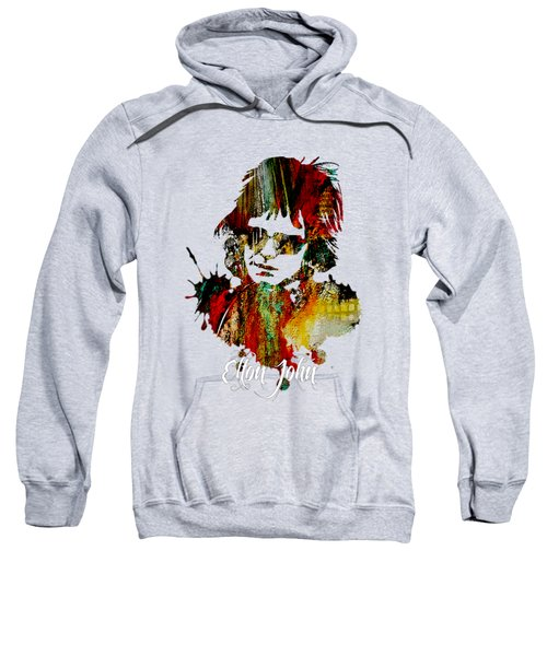Elton John Collection Sweatshirt by Marvin Blaine