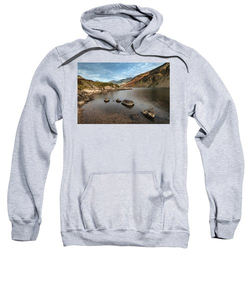 Beautiful Sunset Landscape Image Of Wast Water And Mountains In  Sweatshirt