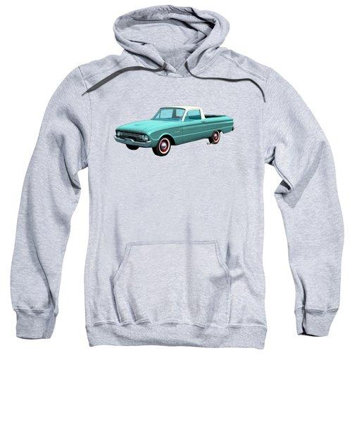 2nd Generation Falcon Ranchero 1960 Sweatshirt by Chas Sinklier