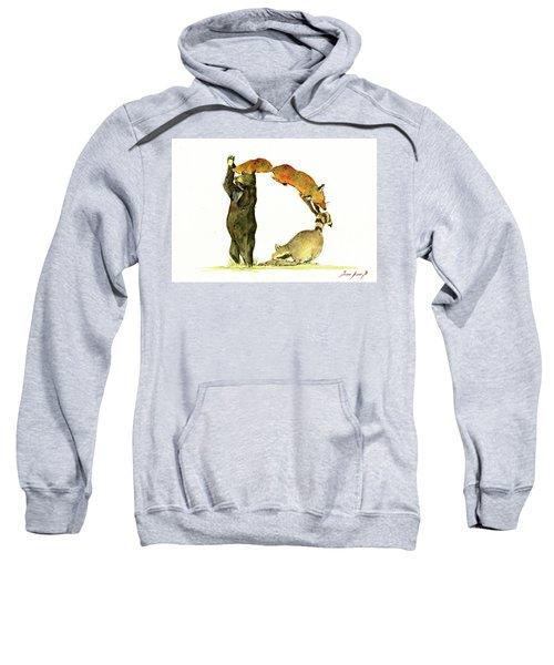 Animal Letter Sweatshirt