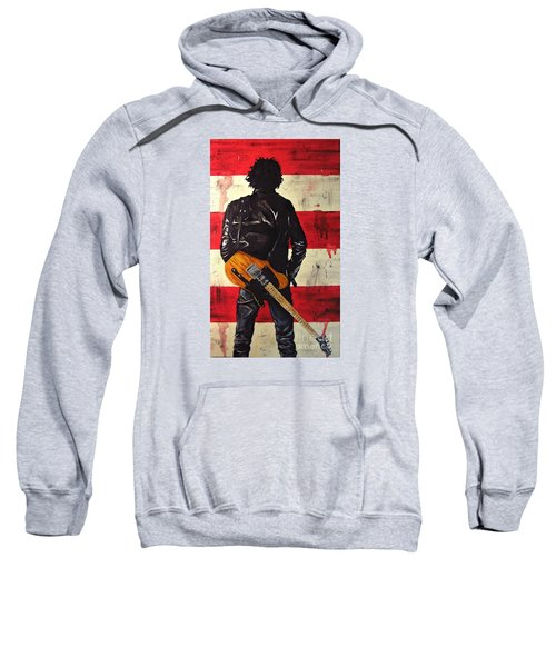 Bruce Springsteen Sweatshirt by Francesca Agostini