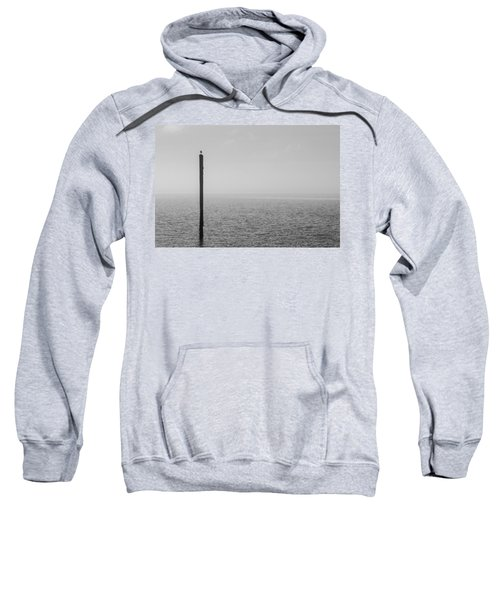 Fog On The Cape Fear River Sweatshirt