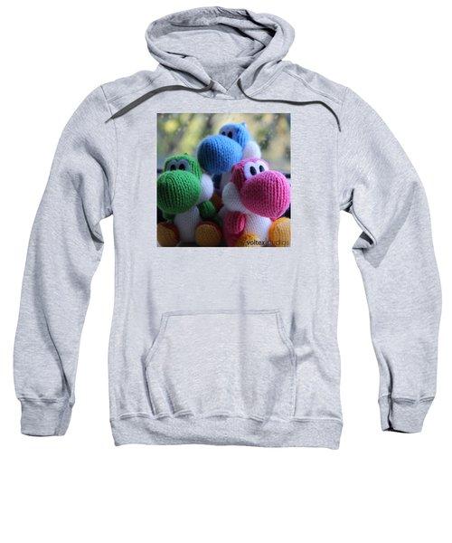 3 Little Yoshis Sweatshirt