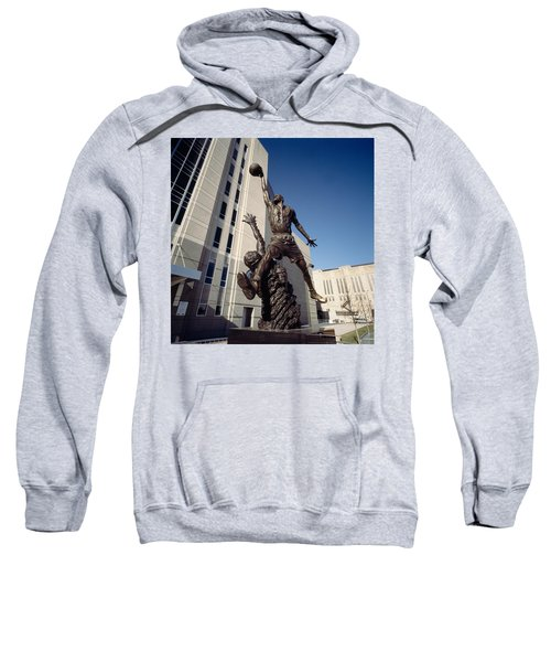 Low Angle View Of A Statue In Front Sweatshirt by Panoramic Images