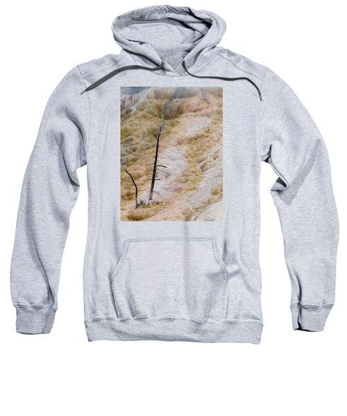 Mammoth Hot Spring Terraces Sweatshirt