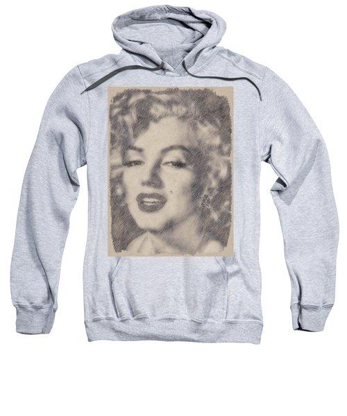 Marilyn Monroe By John Springfield Sweatshirt