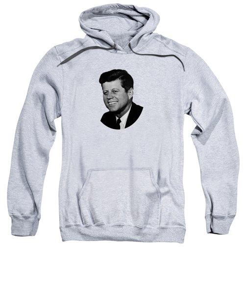 President Kennedy Sweatshirt by War Is Hell Store