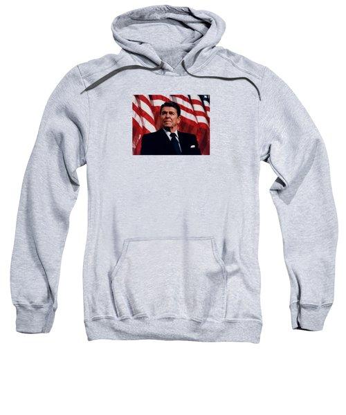 President Ronald Reagan Sweatshirt by War Is Hell Store