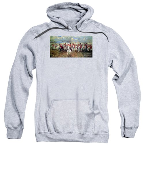 Sweatshirt featuring the painting Scotland Forever by Celestial Images