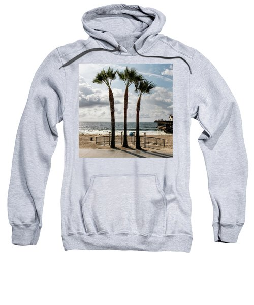 Sweatshirt featuring the photograph 3 Trees by Eric Lake