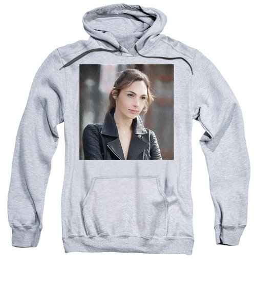 Gal Gadot Art Sweatshirt by Best Actors