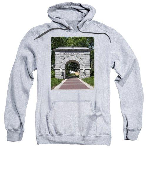 Camp Randall Memorial Arch - Madison Sweatshirt