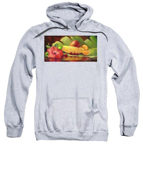 4 Cherries Sweatshirt by Laurie Hein