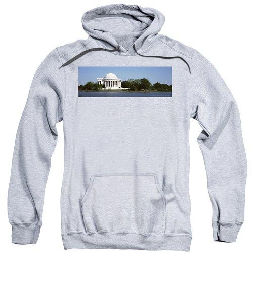 Jefferson Memorial, Washington Dc Sweatshirt by Panoramic Images