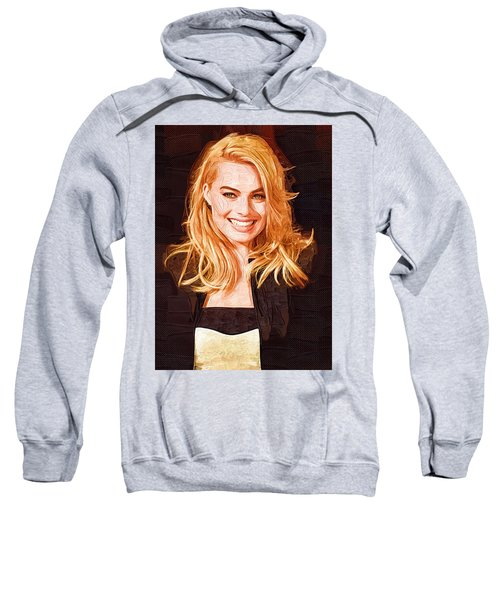 Margot Robbie Painting Sweatshirt
