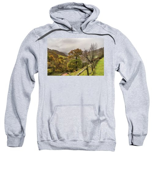 Mountains And Valleys All Around Sweatshirt