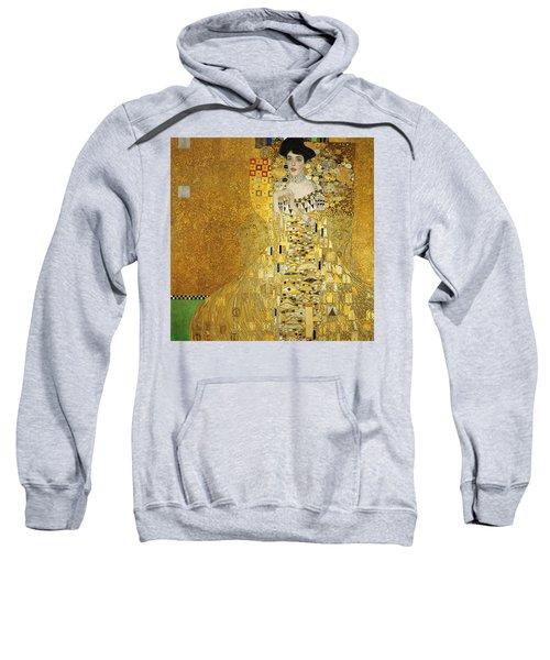Portrait Of Adele Bloch-bauer I Sweatshirt by Gustav Klimt