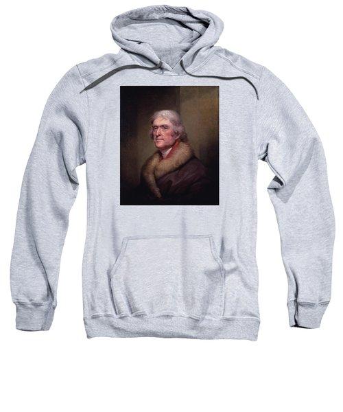 President Thomas Jefferson Sweatshirt by War Is Hell Store