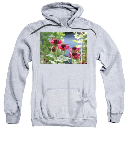 Red Flower Sweatshirt