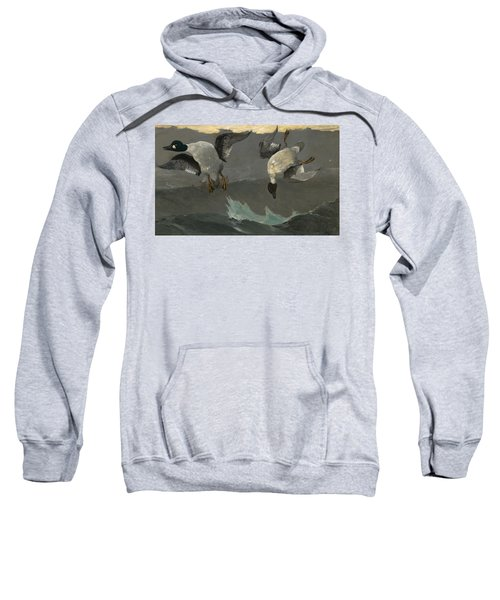 Right And Left Sweatshirt