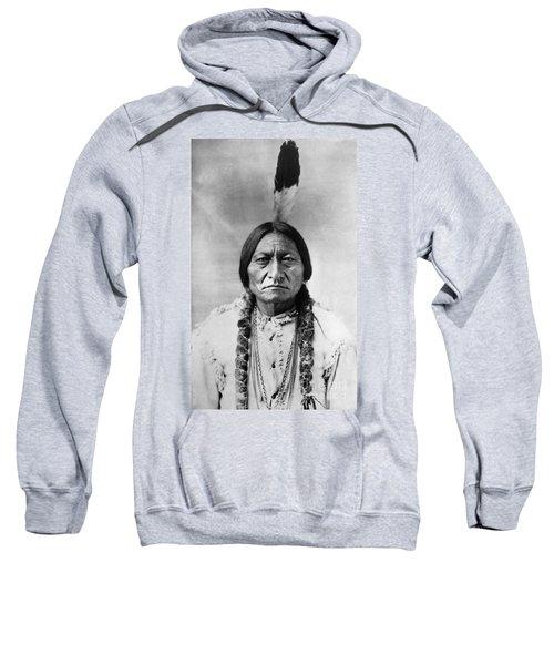 Sitting Bull 1834-1890. To License For Professional Use Visit Granger.com Sweatshirt