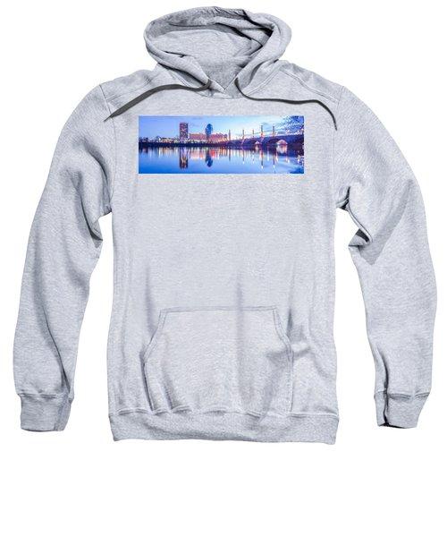 Springfield Massachusetts City Skyline Early Morning Sweatshirt