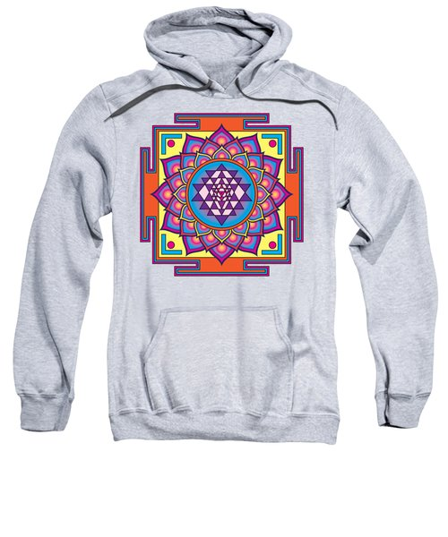 Sri Yantra Mandala Sweatshirt