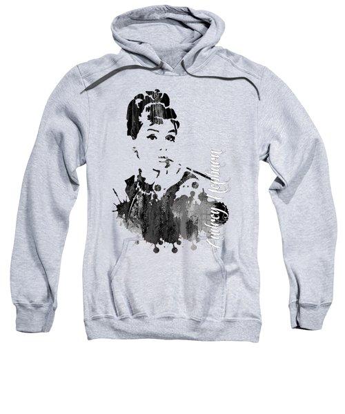 Audrey Hepburn Collection Sweatshirt by Marvin Blaine