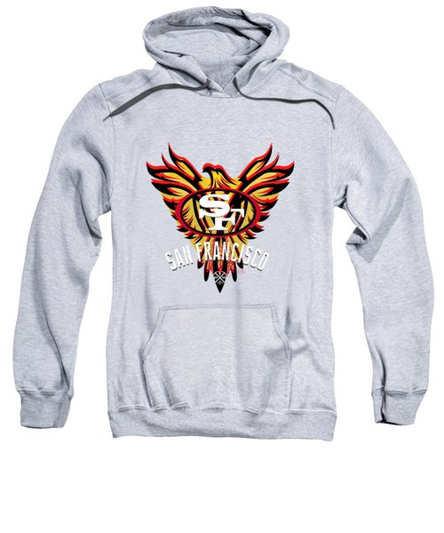49er Phoenix  Sweatshirt by Douglas Day Jones