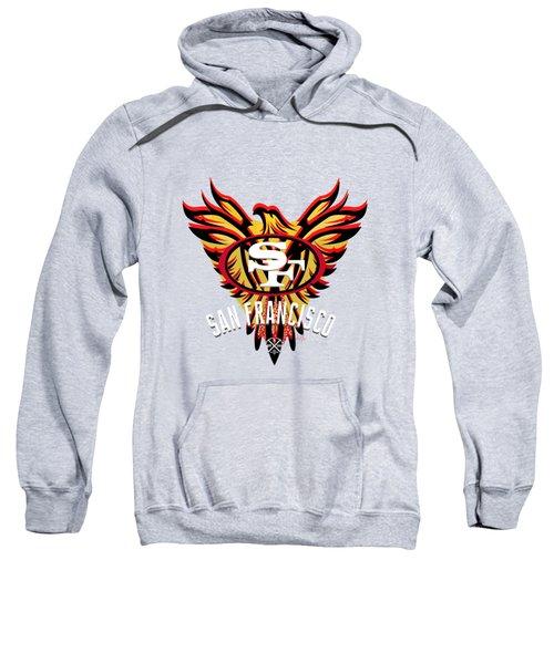 49er Phoenix  Sweatshirt by Douglas Day Jones