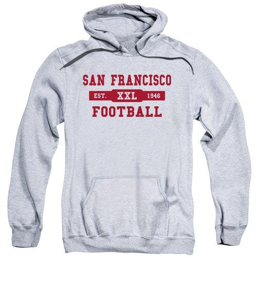 49ers Retro Shirt Sweatshirt by Joe Hamilton