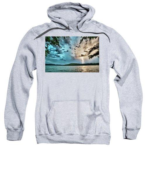 Beautiful Landscape Scenes At Lake Jocassee South Carolina Sweatshirt